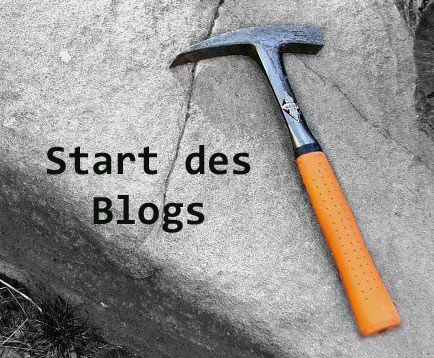 Start des Blogs